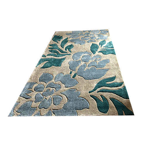 Hand Tufted Wool Viscose Silk Rug