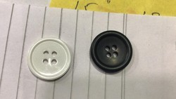 Plastic Garment Button