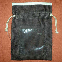 Jute Fabric Pouch