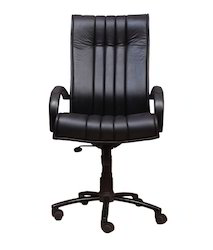 Black High Back Director Chair