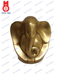 Modern Ganesh Plain Statue