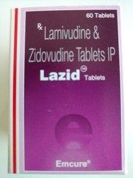 Lazid Lamivudine & Zidovudine Tablet