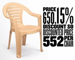 Plastic Chairs (Medium Back)