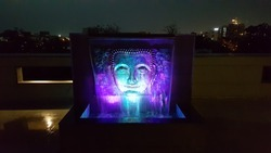 Ceramic Decorative Fountain