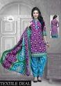 Ladies Suit Bandhani Dress Material