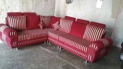 Fabric L Shape Modern Sofa Set