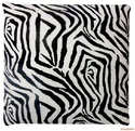 Abstract Cotton Throw Cushion