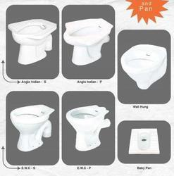 Exporter of Wash Basins & Closet, Toilet, Pan, Urinal