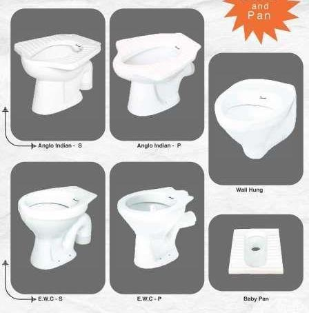 Closet, Toilet, Pan, Urinal & Accessories - Water Closet