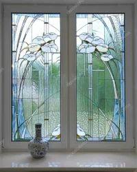 Silver Standard Window, Dimension: 24 cm