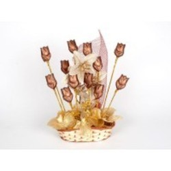 Loveable Tulip Blooms Chocolate Bouquet