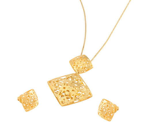 Gold pendant set sone ki latkan set the tanishq showroom surat gold pendant set mozeypictures Image collections