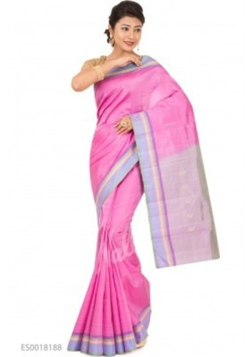 addd27a12c93ff Light Pink Kanchipuram Silk Saree at Rs 5652 | प्योर रेशमी ...