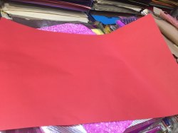 Red Craft Paper