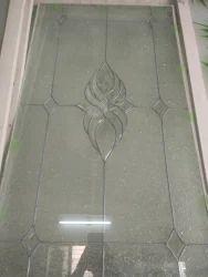 Plain Design Glass