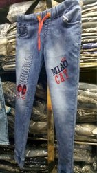 Girls Stylish Denim Jeans