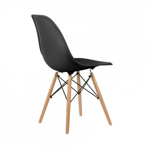 black replica dsw chair natural at rs 12200 designer chair id