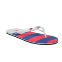 Red Navy Flip Flops